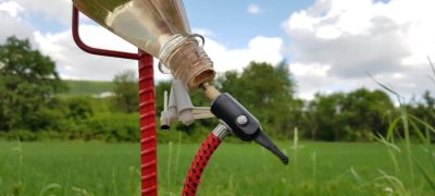 Entdeckerkurs Bau einer Wasserrakete